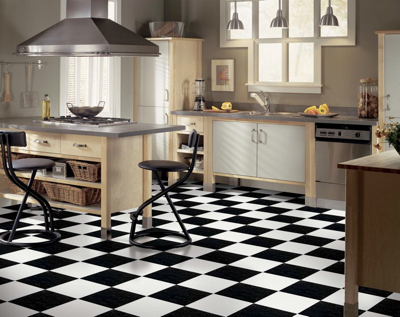 black and white tile floor kitchen black and white kitchen floor tiles design tile